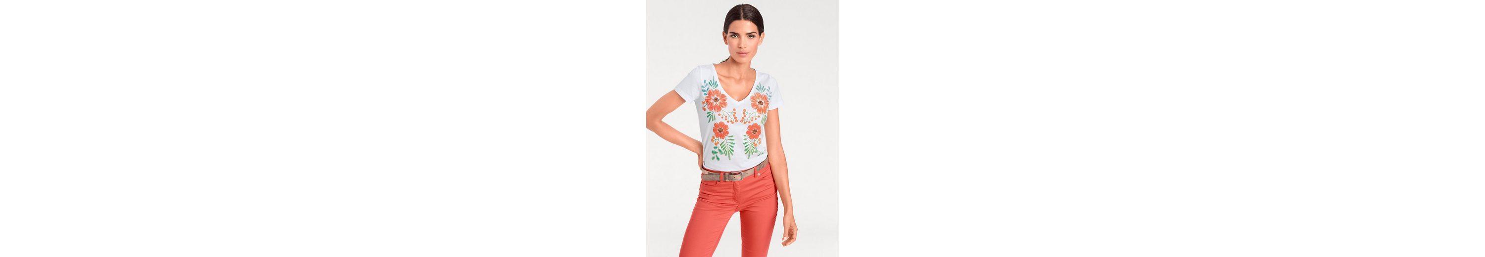 Billig Genießen Günstige Verkaufspreise ASHLEY BROOKE by Heine T-Shirt mit floralem Druck J4KrrwGiJ