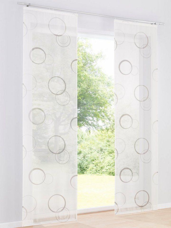 heine home schiebevorhang online kaufen otto. Black Bedroom Furniture Sets. Home Design Ideas