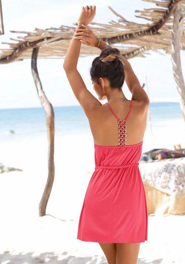 LASCANA Strandkleid mit Zierringen