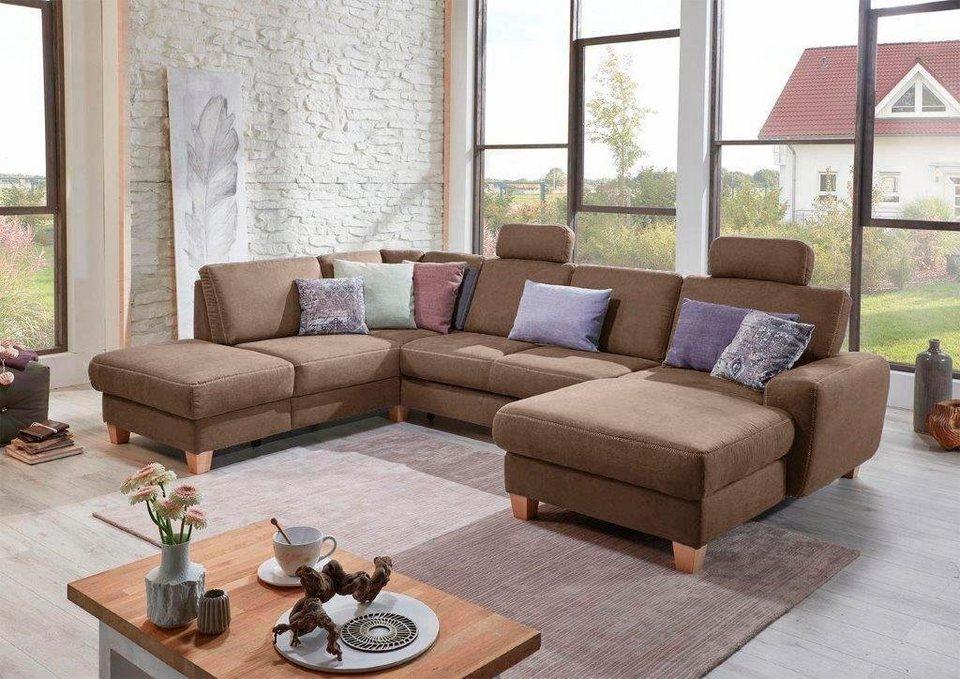 sit more wohnlandschaft wahlweise mit bettfunktion. Black Bedroom Furniture Sets. Home Design Ideas