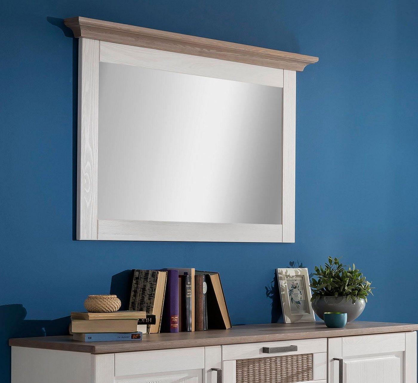 Premium collection by Home affaire Spiegel Lugano  mit Rahmen weiß | 05901348052476