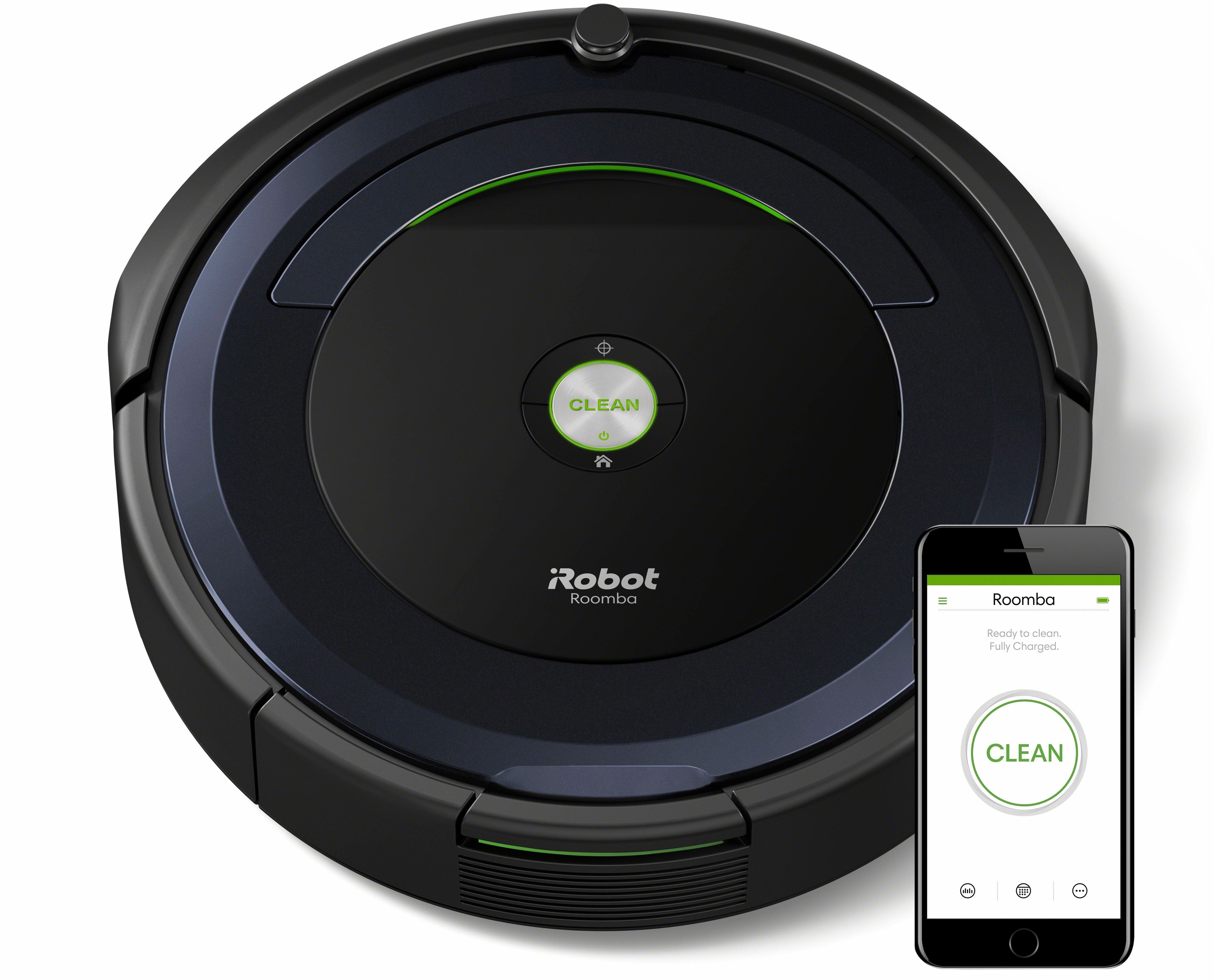Saugroboter Roomba 695, Appfähig