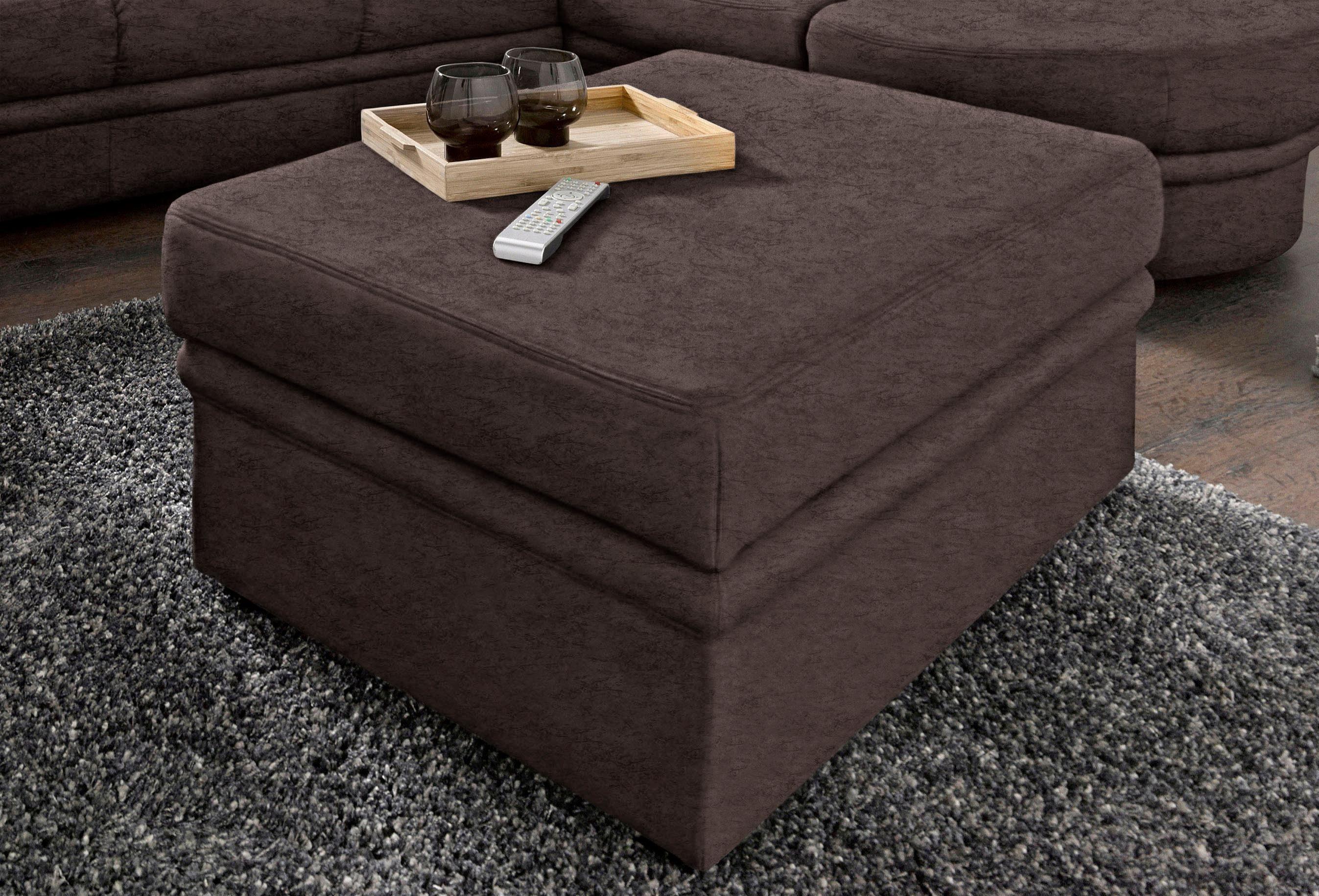 sit&more Hocker, mit Stauraumfach, Inklusive komfortablen Federkerns online kaufen   OTTO