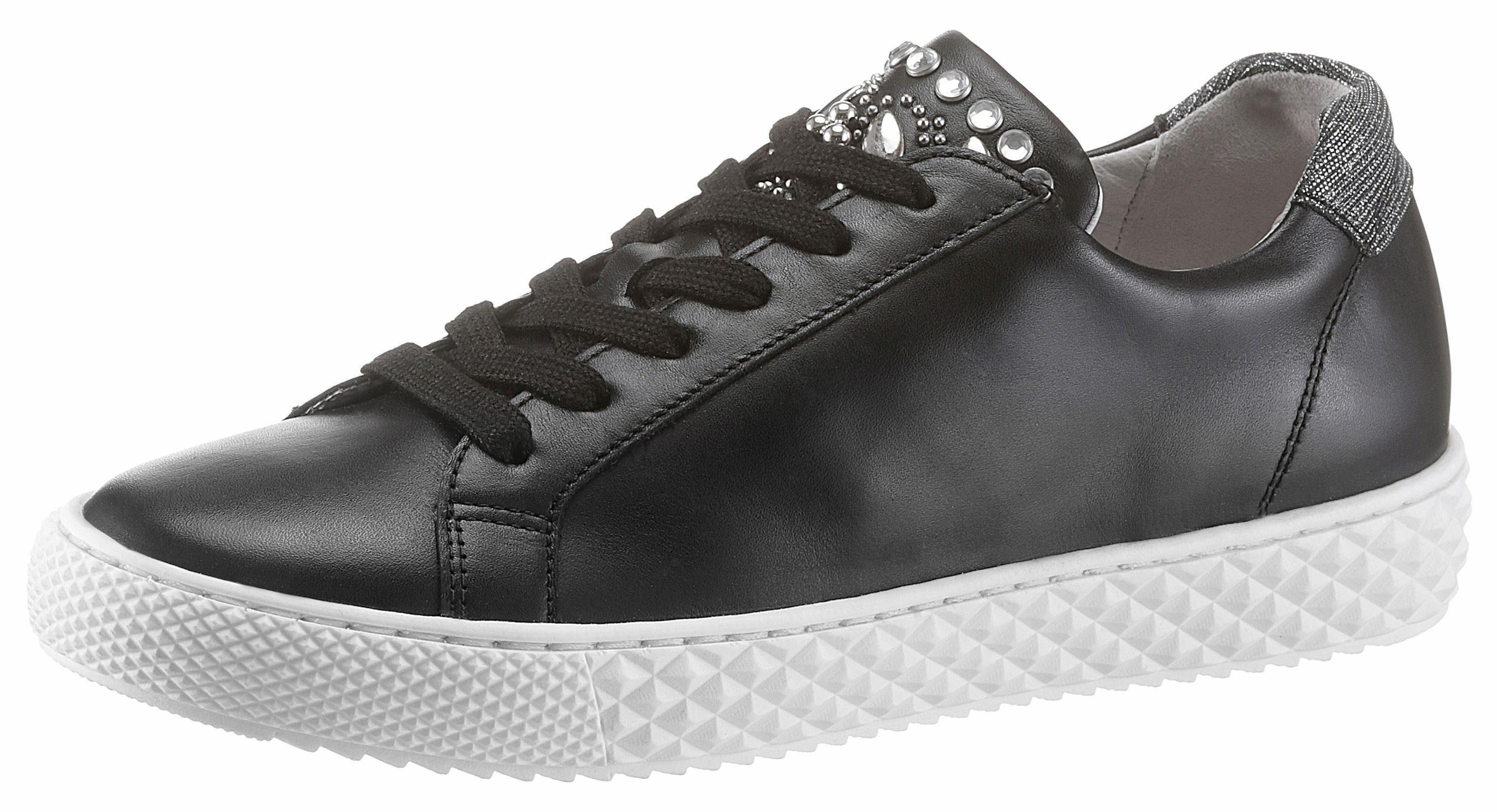 Gabor Sneaker, mit Optifit-Wechselfußbett, schwarz, schwarz