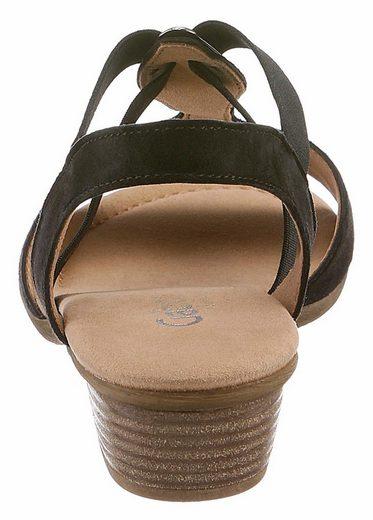Gabor Sandalette, mit schönem Schmuckelement
