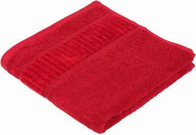 Gözze Handtücher »Uni« (2-St), GOTS zertifiziert - nachhaltig aus Bio-Baumwolle