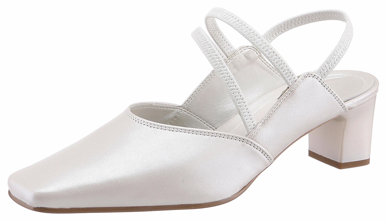 Gabor Slingpumps, ideal als Brautschuh kaufen  offwhite