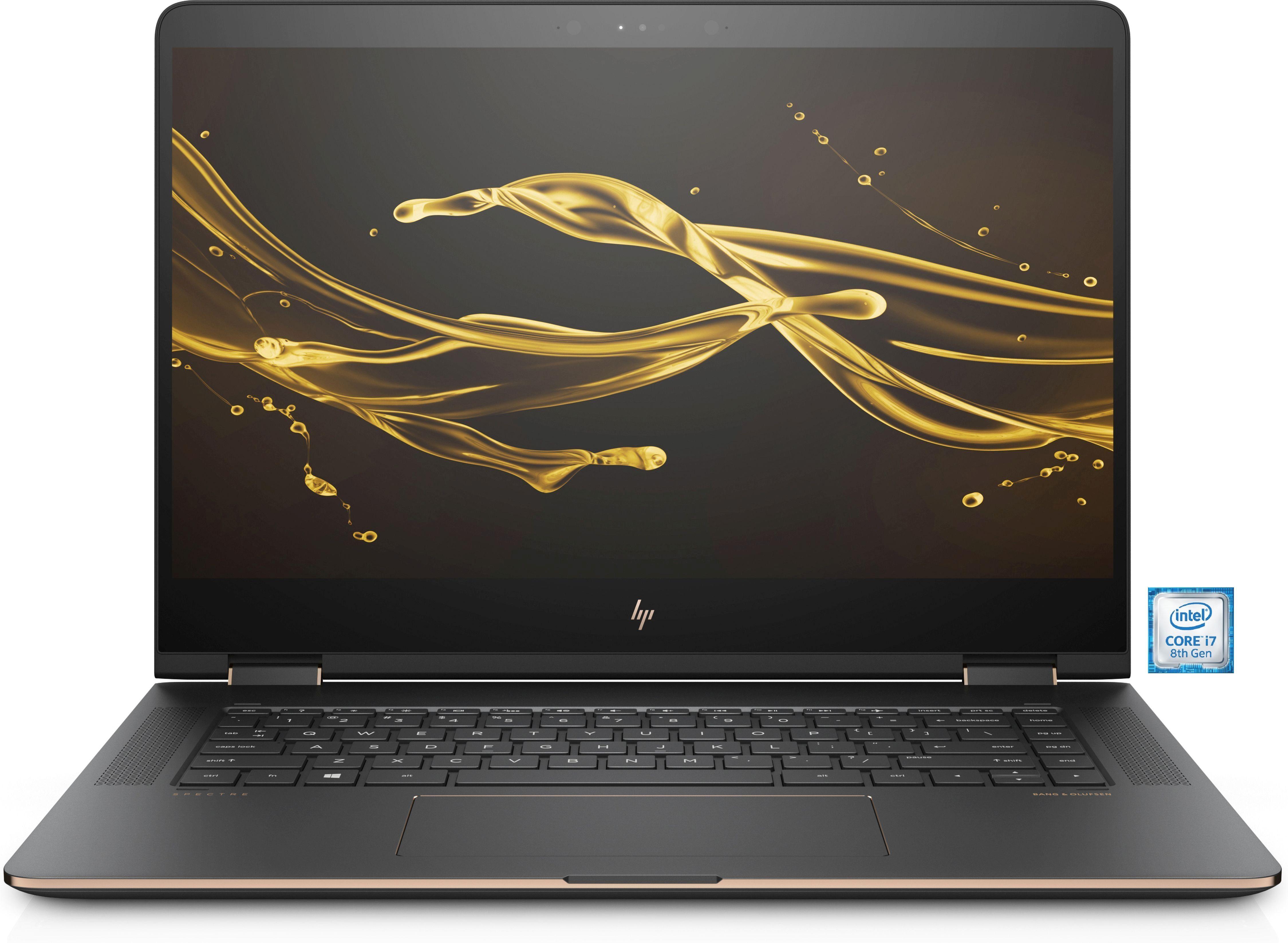 "HP Spectre 15-bl103ng Notebook »Intel Core i7, 39,6 cm (15,6""), 256 GB SSD, 2x8 GB«"