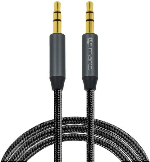 4smarts Adapter »3,5mm Stereo Audiokabel SoundCord 1m«