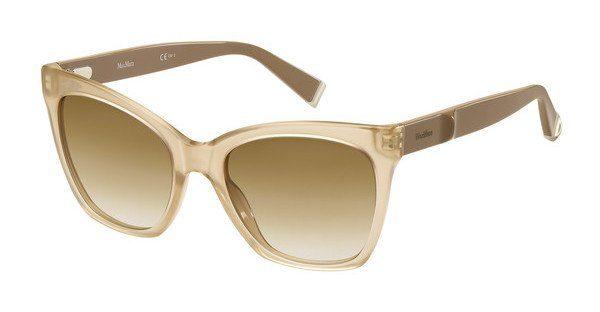 Max Mara Damen Sonnenbrille » MM MODERN IV«, braun, 213/9M - braun/ blau