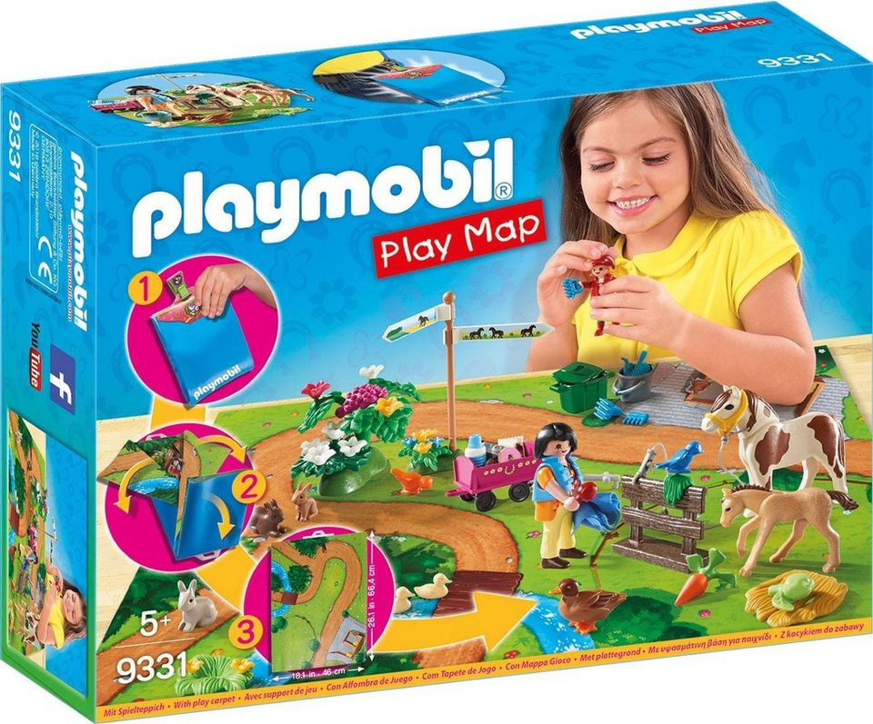 Playmobil® Play Map Ponyausflug (9331),  Country
