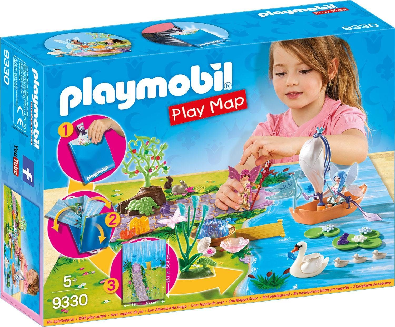 Playmobil® Play Map Feenland (9330), »Faries«