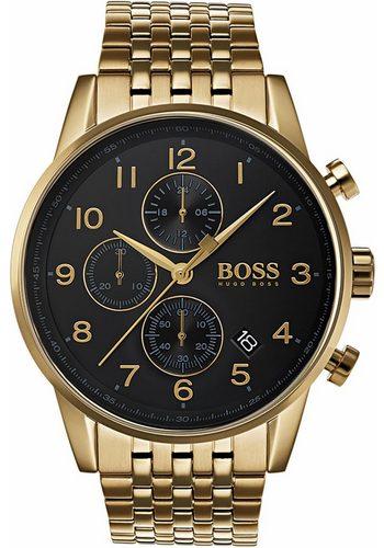 Herren Boss Chronograph NAVIGATOR, 1513531 gold | 07613272244046