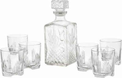 van Well Whiskyglas »Selecta«, Glas, 6 Gläser, 1 Karaffe