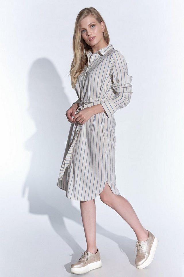 Vestino Hemdblusenkleid, Weite, figurschmeichelnde Form ...
