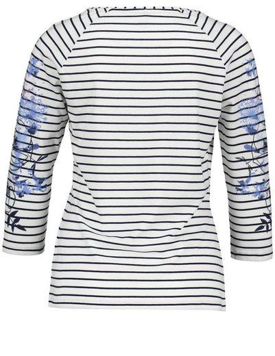 Gerry Weber T-Shirt 3/4 Arm 3/4 Arm Shirt mit Mustermix