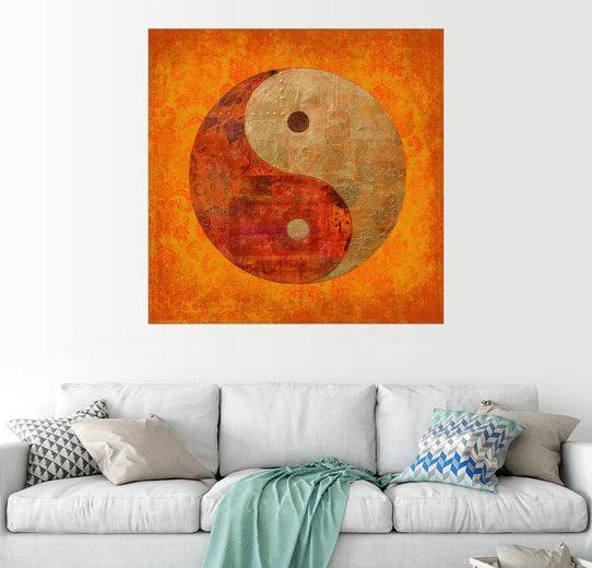 Posterlounge Wandbild - Andrea Haase »yin and yang«