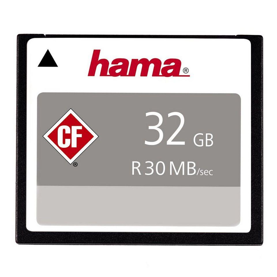 CompactFlash® Card, Hama, »High Speed Pro CompactFlash 32GB 200X« in Coloured