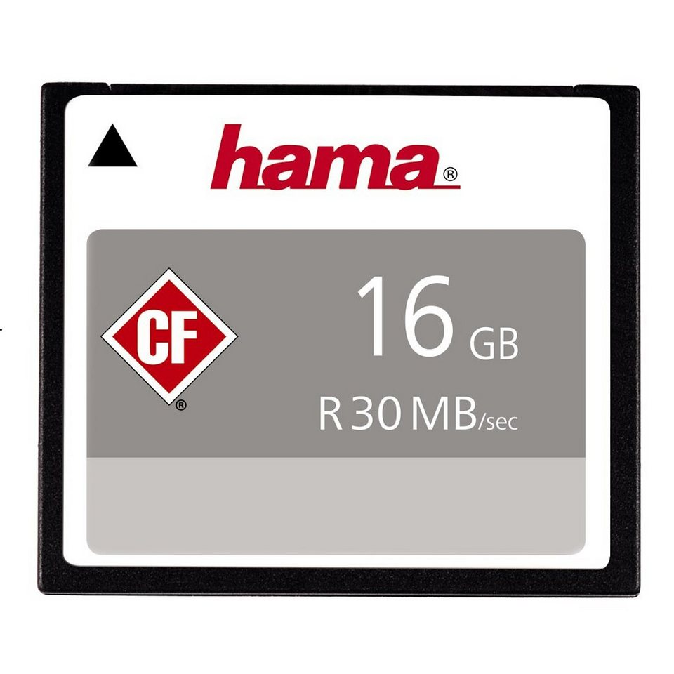Hama, CompactFlash Card, »CompactFlash 16GB 30 MB/s« in Coloured