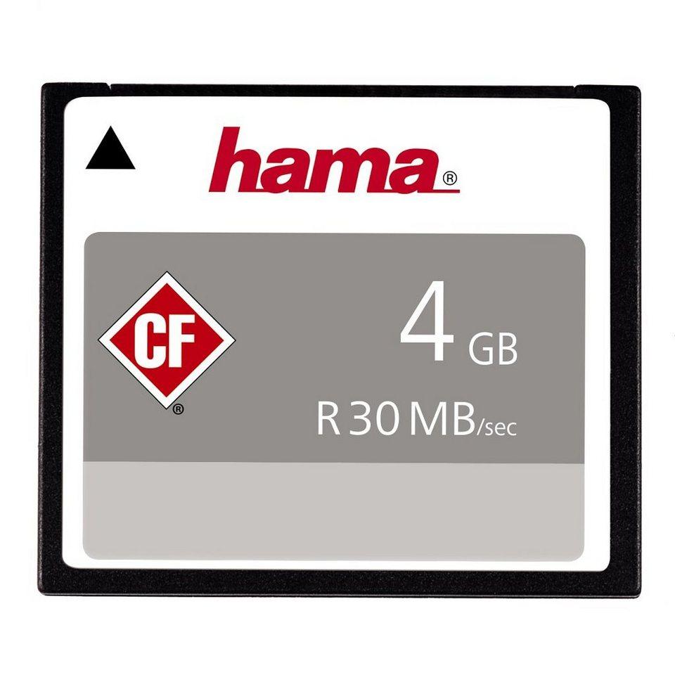 Hama, CompactFlash Card, »CompactFlash 4GB 30 MB/s« in Coloured