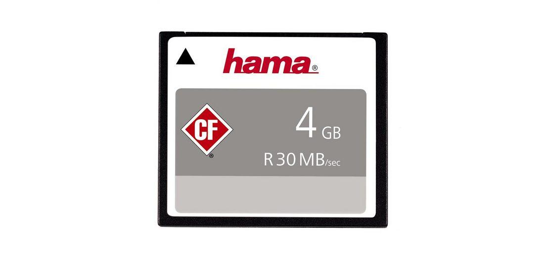 Hama, CompactFlash Card, »CompactFlash 4GB 30 MB/s«