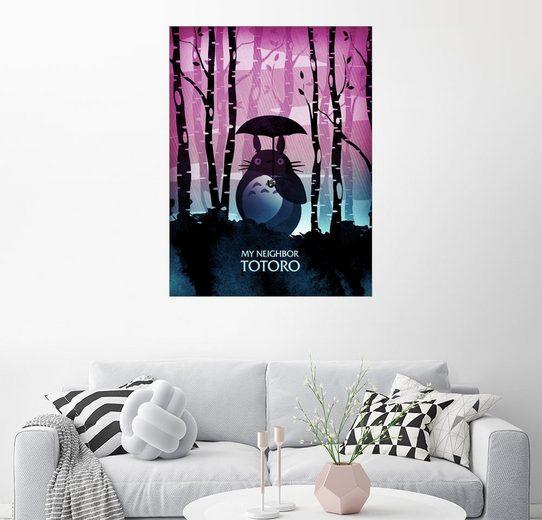 Posterlounge Wandbild - Albert Cagnef »My neighbor Totoro«