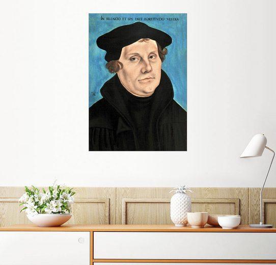 Posterlounge Wandbild - Lucas Cranach d.Ä. »Martin Luther«