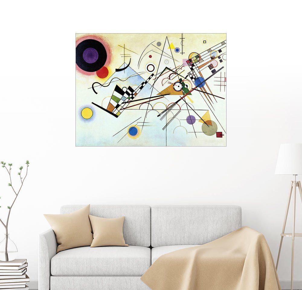 Posterlounge Wandbild - Wassily Kandinsky »Komposition VIII«