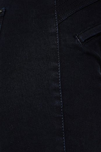Wit Shaping Denim With Flat Decorative Zippers