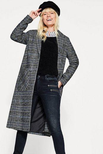 Esprit Used-look-denim Mit Zipper-details