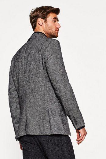 ESPRIT COLLECTION Gewebtes Premium-Sakko mit feiner Wolle