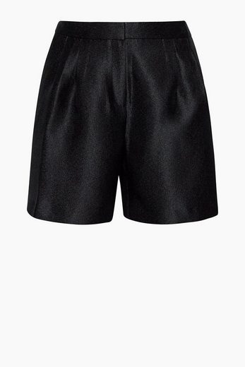 ESPRIT COLLECTION Shorts mit schimmernder Rippstruktur