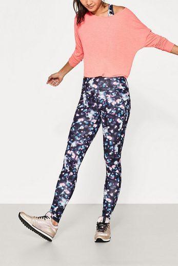ESPRIT Active-Legging mit Allover-Print, E-DRY