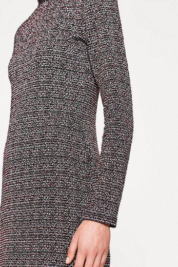 EDC BY ESPRIT Kleid in Salz- und Pfeffer-Optik