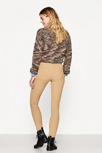 ESPRIT Stretch-Cord-Pants mit hautengem Cut