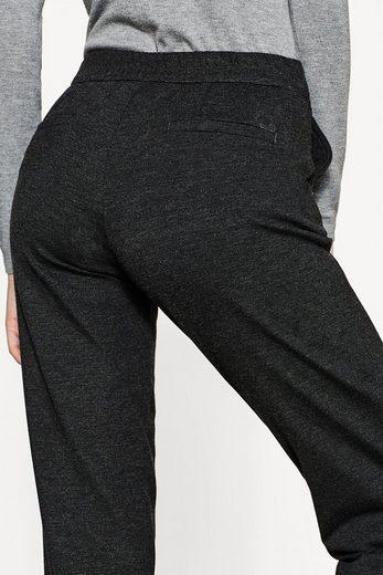 ESPRIT Jogg-Pants aus kompaktem Jersey