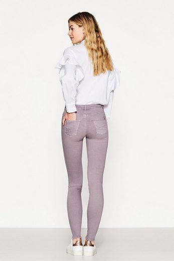 ESPRIT Shaping-Pants mit Zier-Zippern