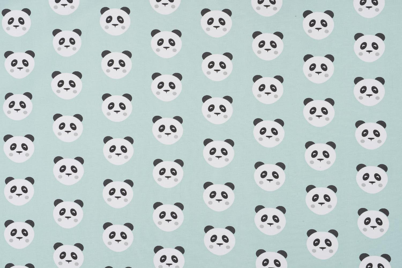 "Jersey-Stoff ""Panda"" 160 cm breit (Meterware)"