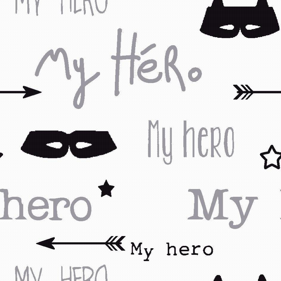 "Jersey-Stoff ""Hero"" 150 cm breit (Meterware)"