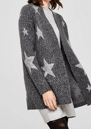 S.oliver Red Label Long Cardigan With Stars