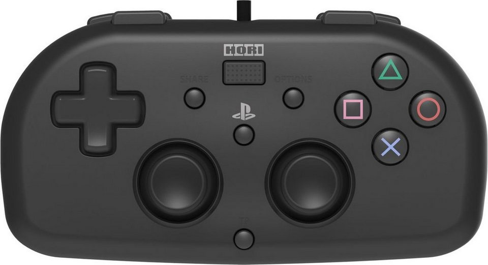 hori playstation 4 zubeh r horipad mini schwarz online. Black Bedroom Furniture Sets. Home Design Ideas