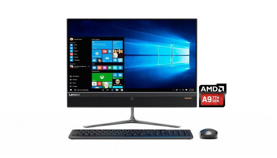lenovo all in one pc ideacentre aio 510 23asr a6 9210 6gb. Black Bedroom Furniture Sets. Home Design Ideas