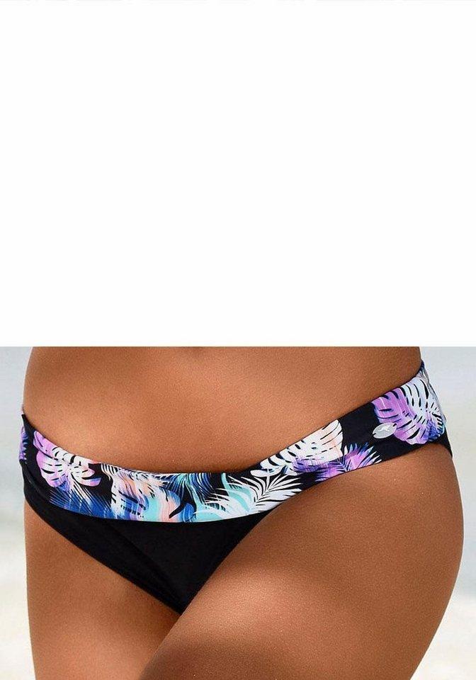 Kangaroos Bikini-Hose »Ida« mit bedrucktem Umschlagbund online ... bdd93fca71