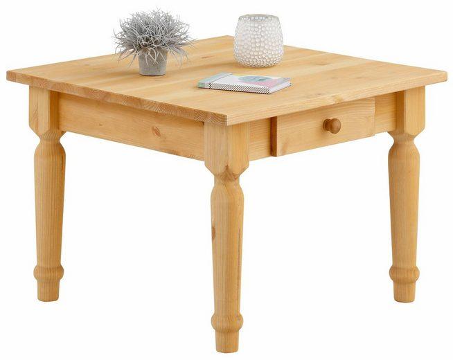 Home affaire Couchtisch »Noah«, mit schön gedrechselten Tischbeinen in 3 verschiedenen Farben.
