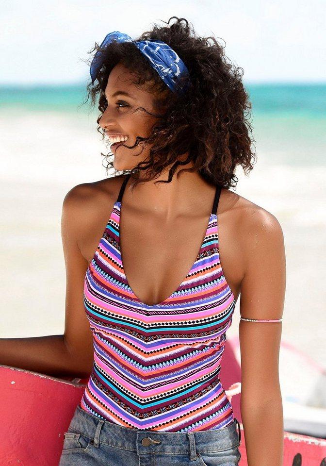 Bademode - Bench. Badeanzug, mit trendigem Streifenprint ›  - Onlineshop OTTO