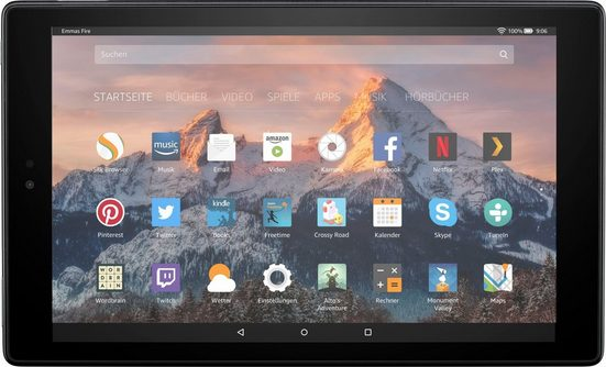 "Fire Fire HD 10-Tablet mit Alexa Hands-free Tablet (10,1"", 32 GB)"