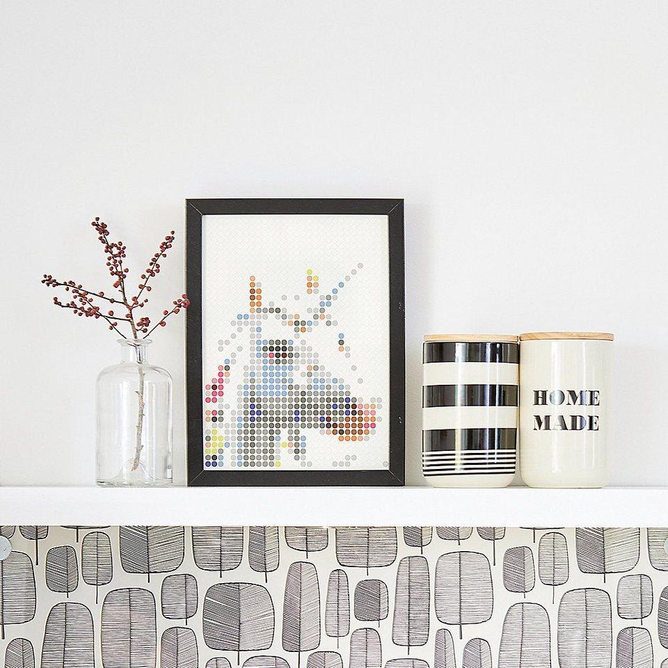 dot on malvorlage »dot on art  trend  unicorn 30 x 40