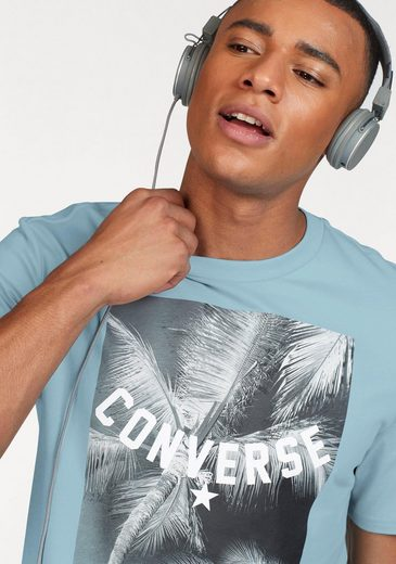 Converse T-Shirt PALM TREE PHOTO TEE