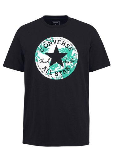 Converse T-shirt Converse Palm Print Chuck Patch Tee