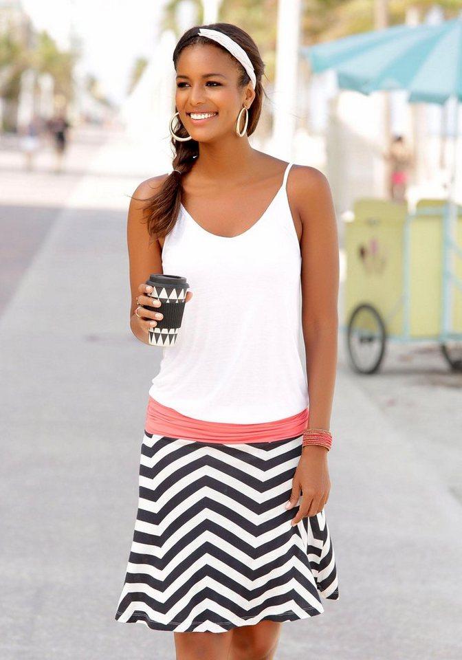 Beachtime Strandkleid, Ausschnitt dezent gerafft online ...